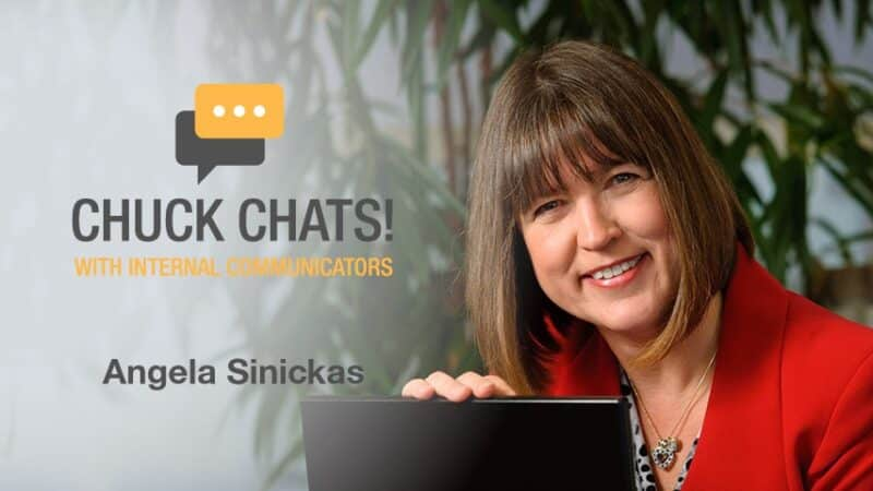 Chuck Chats! with Angela Sinickas