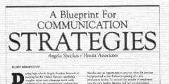 A Blueprint for Communication Strategies