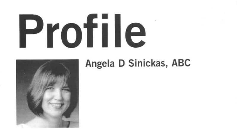 Profile of Angela Sinickas in Internal Communication