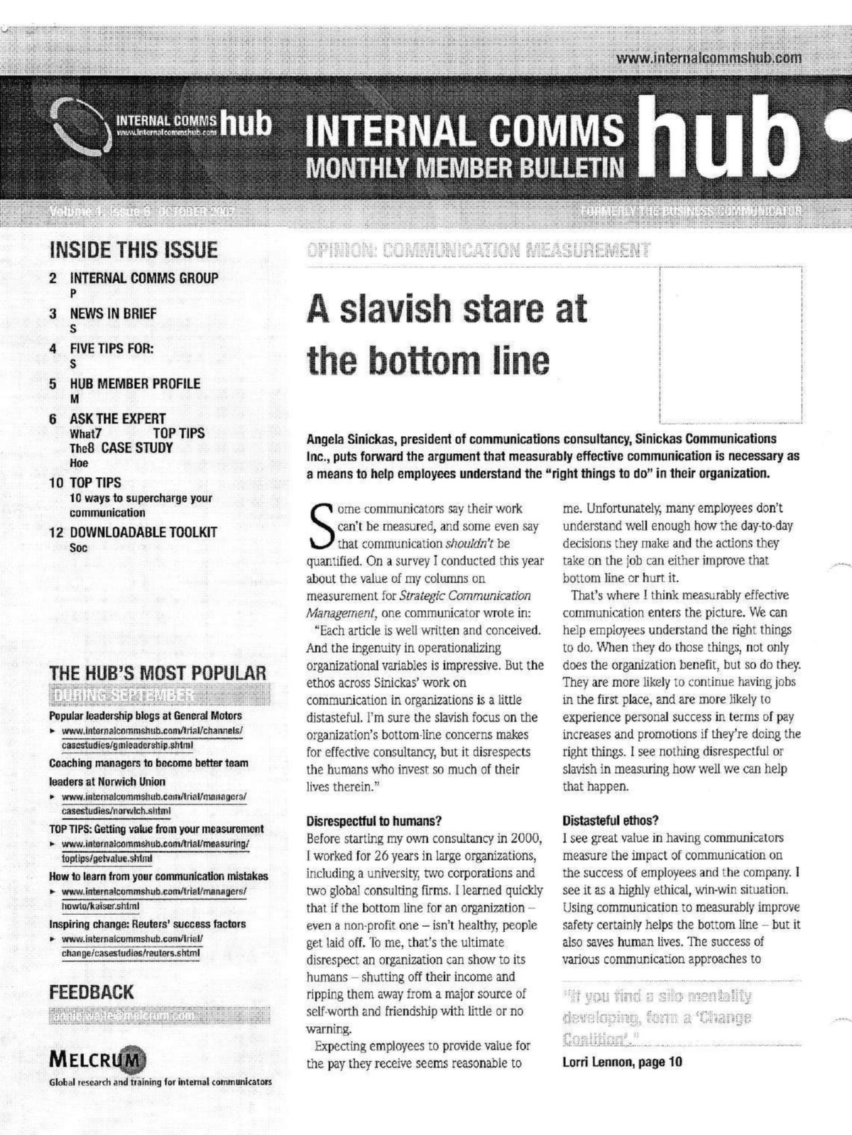A slavish stare at the bottom line page 00001g fandeluxe Gallery